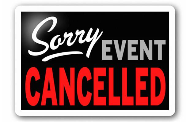 Image result for sorry cancelled